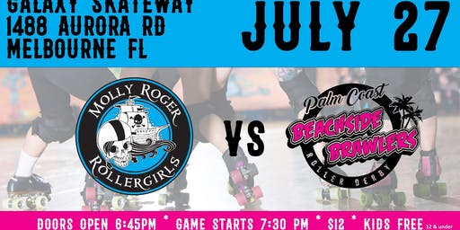 Molly Roger Rollergirls vs Beachside Brawlers