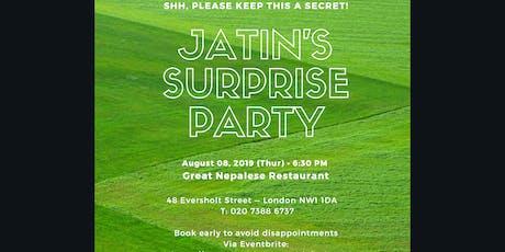 Jatin's Surprise Party tickets