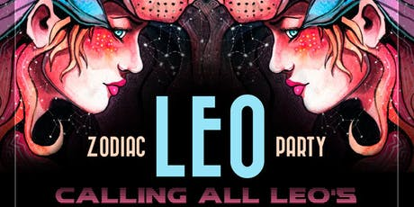 Annual LEO Zodiac Party at Tongue and Groove Thursday! tickets