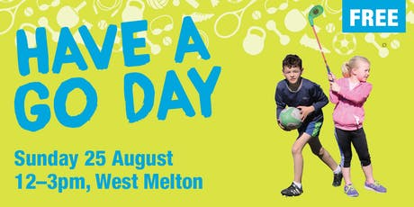 Have a Go Day - Sport and Recreation tickets