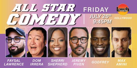 Jeremy Piven, Godfrey, Sherri Shepherd, and more - All-Star Comedy! tickets