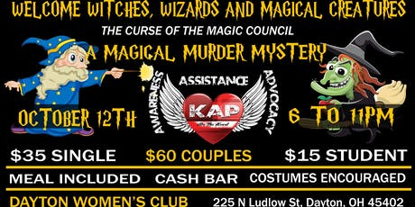 Curse of the Magic Council: A Magical Murder Mystery  tickets