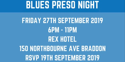 Queanbeyan Blues Presentation Night