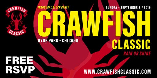 CHICAGO CRAWFISH CLASSIC (FREE RSVP)