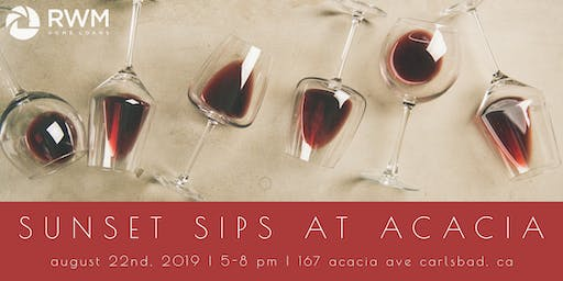 Sunset Sips at Acacia Estates: Happy Hour with a View Benefiting Vets