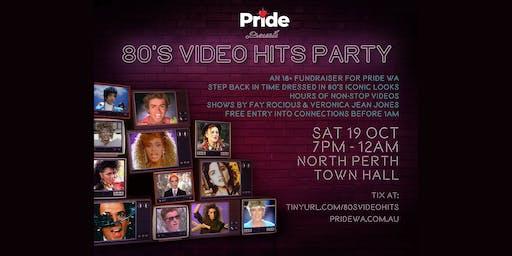 Pride WA Presents - 80's Video Party
