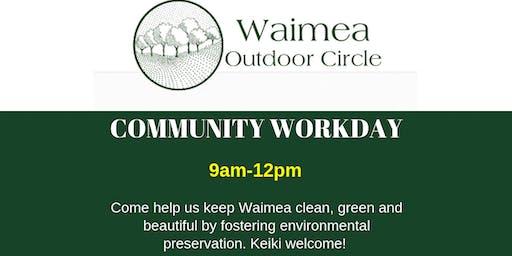 Waimea Outdoor Circle Community Workday (HAWAII)