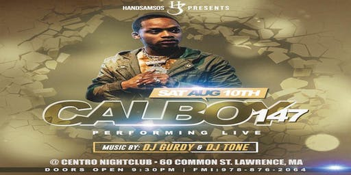 CALBOY147 PERFORMING LIVE!