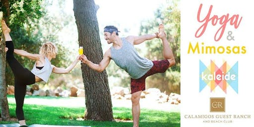 Yoga & Mimosas at Calamigos Guest Ranch and Beach Club
