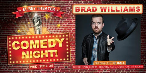 Comedy Night! ft. Brad Williams - Chico, CA