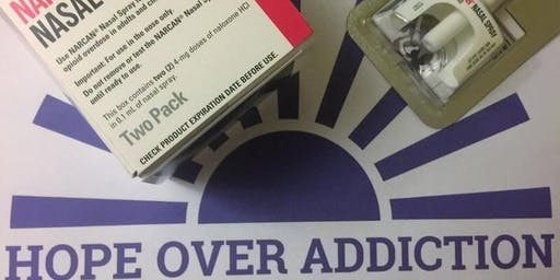 NARCAN® Training at Hope Over Addiction Office