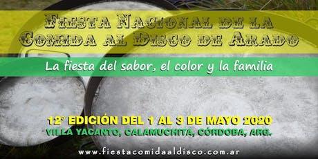 Fiesta Nacional de la Comida al Disco de Arado entradas