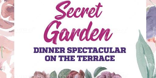 Secret Garden: A dinner extravaganza on the Castle Terrace