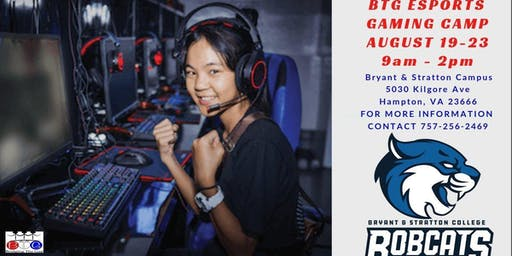 Bridging the Gap Youth Program Bryant & Stratton College for ESports Gaming Camp