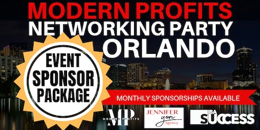 Sponsor Modern Profits Networking Party Orlando - Expand Your Brand!
