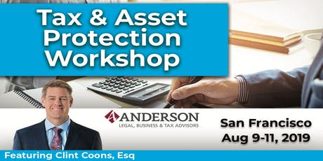 3 Day Tax and Asset Protection Workshop tickets