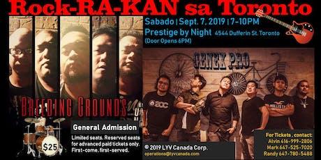 Rock-RA-KAN sa Toronto tickets