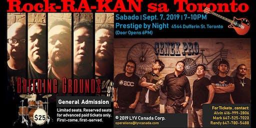 Rock-RA-KAN sa Toronto