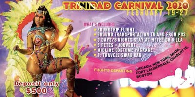 T. Travels to Trinidad & Tobago Carnival 2020
