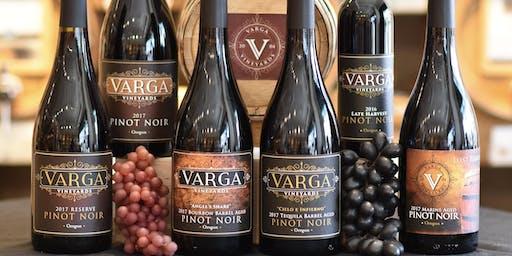 Varga Wines Release Party