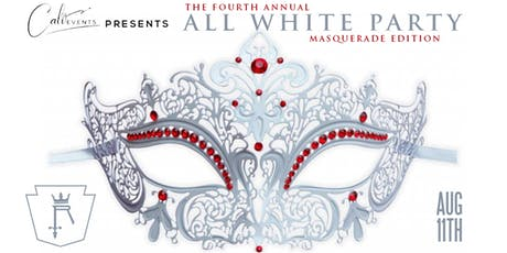 The 4th Annual All White Party: Masquerade Edition tickets