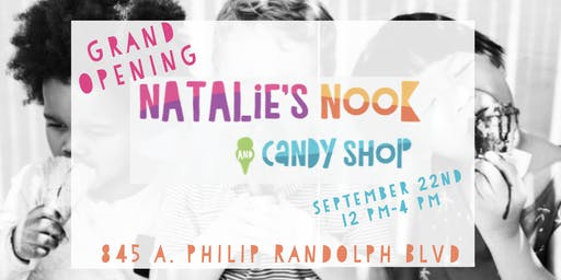 Natalie's Nook & Candy Shop Grand Opening