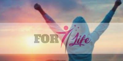 Treinamento FOR LIFE - 31/ago a 01/ set- Mude sua vida.