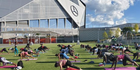 FREE Hip Hop Yoga at The Home Depot Backyard tickets