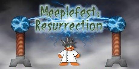 Meeplefest: Resurrection tickets