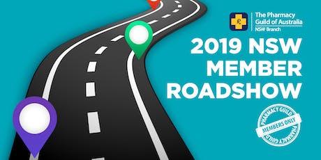 NSW Member Roadshow 2019 - Orange tickets