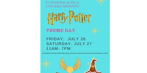 Harry Potter Theme Day Sweets Fest