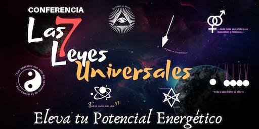 """Conferencia: """"Las 7 Leyes Universales"""""""