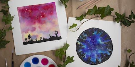 Watercolour Skies Painting Workshop tickets
