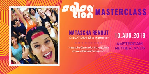 SALSATION® Masterclass with Natascha Renout in Amsterdam, Netherlands