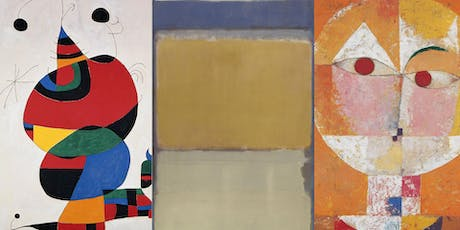 Paint & Sip with Oils: Abstract Art with Rothko, Klee and Miró tickets