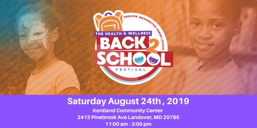 7th Annual Health & Wellness Back 2 School Community Festival