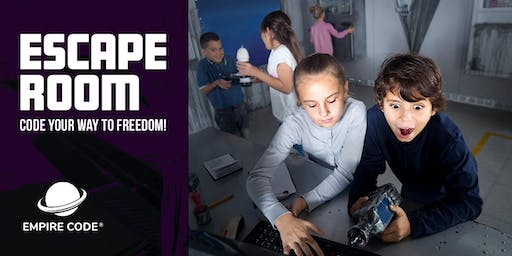 Bring Your Kids to Our Coding Escape Room for September Holidays