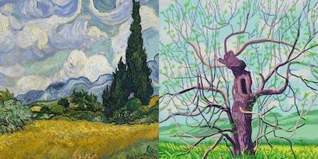 Social Painting/Paint & Sip - Van Gogh x David Hockney tickets