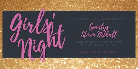 Sportys  Storm Ladies Night tickets