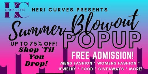 Summer Blowout Popup Shop