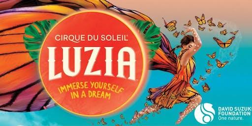 Exclusive evening featuring Cirque du Soleil's LUZIA