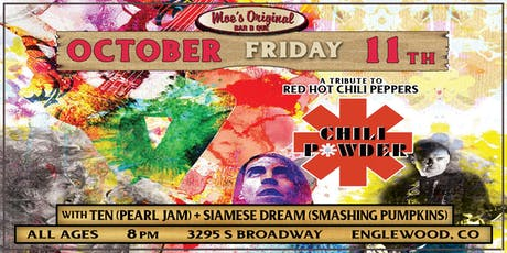 Chili Powder (RHCP Tribute) at Moe's Original BBQ Englewood tickets