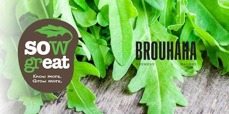 Growing an abundant veggie patch || Workshop & Lunch tickets
