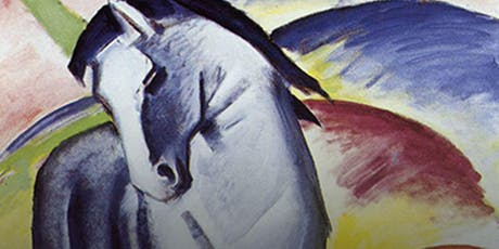 Social Painting/Paint & Sip - Blue Horse by Franz Marc tickets