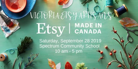 Victoria Etsy Artisans Made in Canada Event tickets
