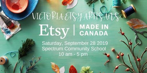 Victoria Etsy Artisans Made in Canada Event
