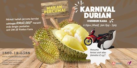 Karnival Durian @ Rimbun Kasia tickets