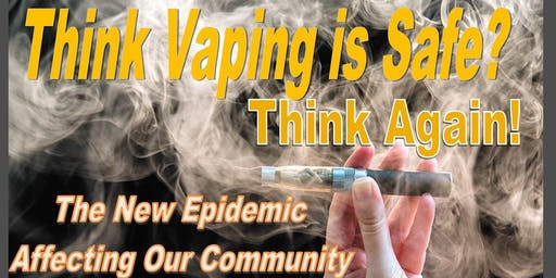 Vaping:  Is It Safe?  The New Epidemic