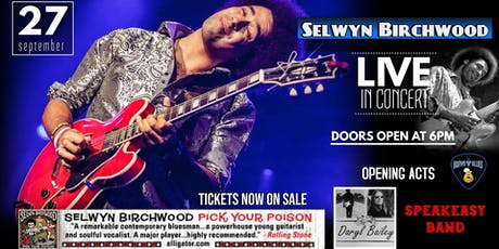 Selwyn Birchwood tickets