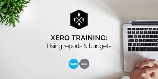 XERO TRAINING: Using Reports & Budgets (Hamilton)